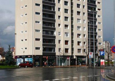 Andrasa. Fachadas Ventiladas. Avenida Euskadi 66. Barakaldo