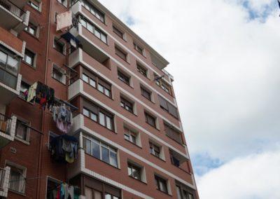 Andrasa. Fachadas SATE con acabado cerámico. Azurleku 12. Bilbao