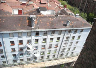 Andrasa. Fachadas SATE. Benidorm 6. Bilbao