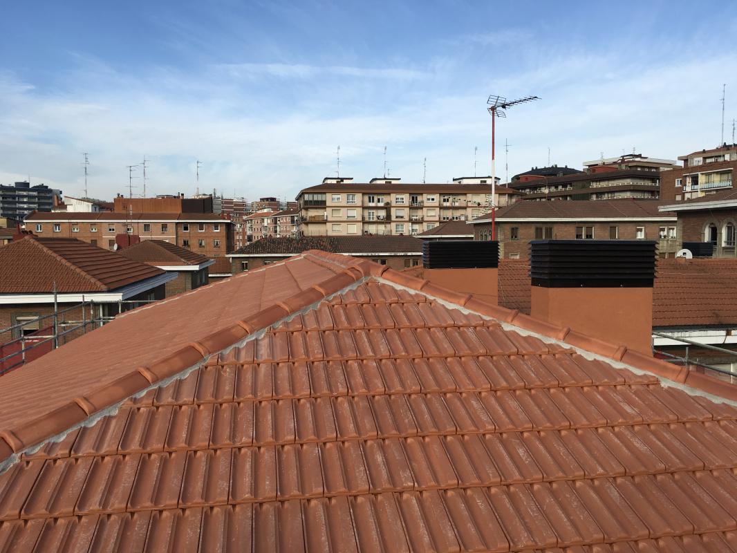 Andrasa. Impermeabilizaciones. Iturriaga, 57 Cubierta. Bilbao
