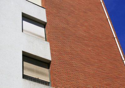 Andrasa. Fachadas SATE con acabado cerámico. Jesús Galíndez 12. Bilbao