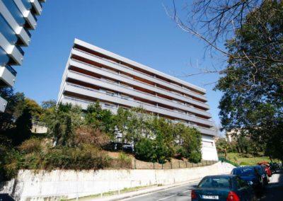 Andrasa. Fachadas Ventiladas. Rehabilitacion Maestro Mendiri 8. Bilbao